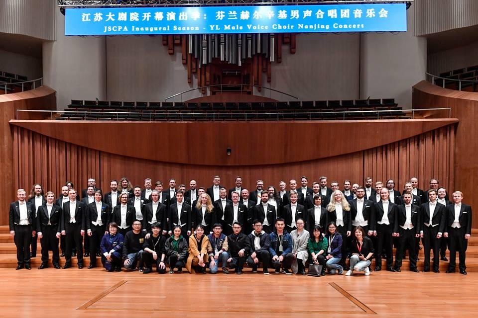 YL konsertoi tuhansille kiinalaisille