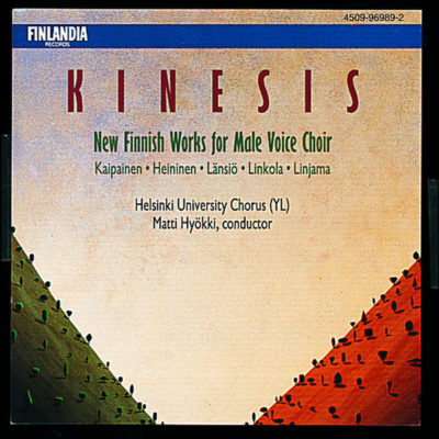 Kinesis – New Finnish Works for Male Voice Choir