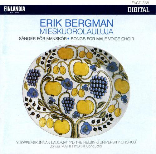 Erik Bergman: Mieskuorolauluja