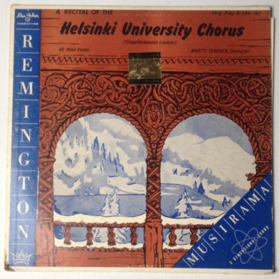 A Recital of The Helsinki University Chorus