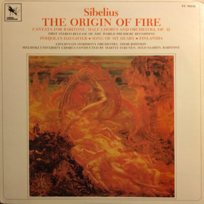 Sibelius: The Origin of Fire (uusintajulkaisu)