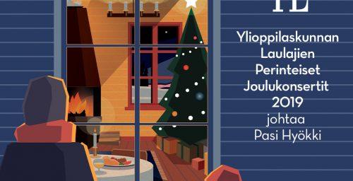Perinteiset joulukonsertit – nyt myynnissä!