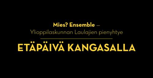 Etäpäivä Kangasalla -virtuaalikonsertti katsottavissa nyt ilmaiseksi!